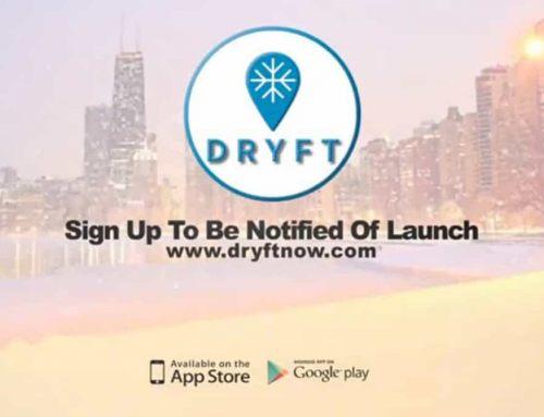 Dryft Smartphone App Promo