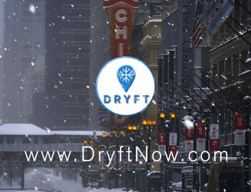 Logo Reveal Dryft Smartphone App