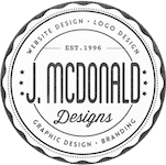 J. McDonald Designs | Website & Graphic Design | Kansas City, Mo Logo
